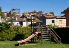 L'Aquila 3 años después del terremoto Imágenes de archivo libres de regalías