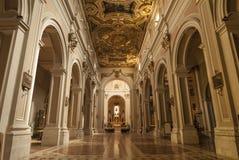 L'Aquila, interior of the S.Bernardino church Royalty Free Stock Photo