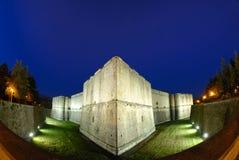 L'Aquila-Italy, o castelo Fotos de Stock