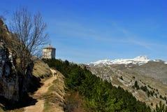 L'Aquila landskap Arkivbilder