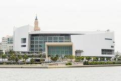 L'arène d'American Airlines, maison de l'équipe du Heat de Miami photos libres de droits