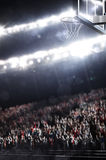 L'arène de basket-ball rendent Photographie stock libre de droits