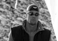 L'arène internationale de contact de XXIIe de la natation Images libres de droits