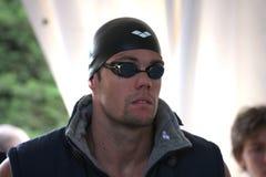 L'arène internationale de contact de XXIIe de la natation Image stock