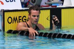 L'arène internationale de contact de XXIIe de la natation Images stock