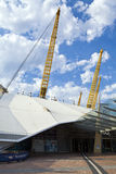 L'arène O2 (Millennium Dome) à Londres images stock