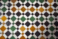 Arabesque coloré typique du Maroc Marrakech vieil Image libre de droits