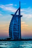 L'arabo di Al di Burj è un hotel delle stelle del lusso 5 Fotografia Stock Libera da Diritti