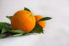 L'arancia è al cuore Fotografia Stock