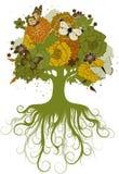 L'arbre abstrait Images libres de droits