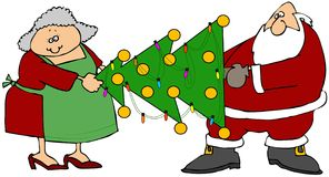 L'arbre de Claus illustration libre de droits