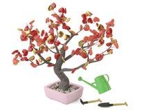 L'arbre de coeurs dans le pot illustration 3D Photographie stock libre de droits