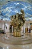 L'arbre de ` de sculpture du ` de la vie, Moscou, Russie images stock