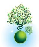 L'arbre de guindineau Illustration Libre de Droits