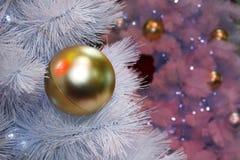 L'arbre de Noëldécoration, célébration de nouvelle année image stock