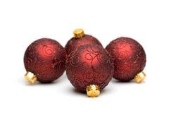 L'arbre de Noël ornemente II Images libres de droits