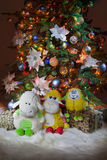 L'arbre de Toy And New Year images libres de droits