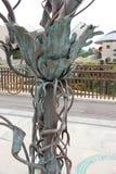 L'arbre en bronze Photo libre de droits