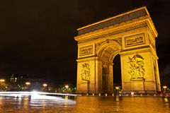 L'Arc de Triomphe Royalty Free Stock Photography
