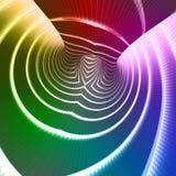 L'arc-en-ciel colore le fond de technologie Images stock