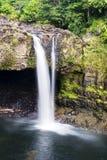 L'arc-en-ciel tombe Hawaï Image libre de droits
