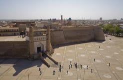 L'arche Forterss à Boukhara, Uzbekistan Photographie stock libre de droits