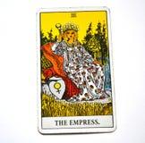 L'archetipo femminile di generazione della donna della madre Terra della madre della carta di tarocchi dell'imperatrice illustrazione vettoriale