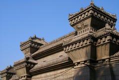 L'architecture chinoise Images libres de droits