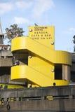 L'architecture concrète de Brutalist du centre de Southbank, Lon Photos libres de droits