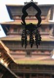L'architecture dans la place durbar de Katmandou au Népal Photos libres de droits