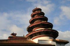 L'architecture dans la place durbar de Katmandou au Népal Photo libre de droits