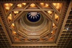 L'architecture dans le zhongzhengtang de Taïpeh, Taiwan Image stock