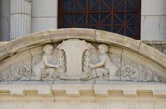 L'architecture de Colorado Springs fraye un chemin le musée Photos libres de droits