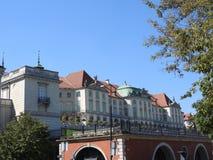 L'architecture de la ville de Varsovie en Pologne image stock