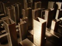 L'architecture des agrafes image libre de droits