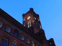 L'architecture des bâtiments allemands de puissance images libres de droits