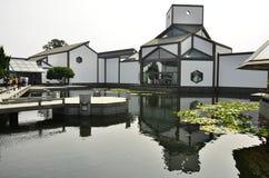 L'architecture du musée de Suzhou à Suzhou, Chine Photos libres de droits