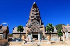 L'architecture est construction et pagoda élégante dans Tha Photo stock
