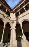 L'architecture Monastère de Montserrat (monastère de Montserrat) Image libre de droits