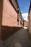 L'architecture religieuse du plateau du Qinghai-Thibet Images libres de droits