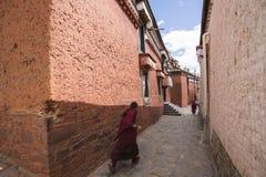 L'architecture religieuse du plateau du Qinghai-Thibet Photo libre de droits
