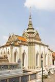 L'architecture traditionnelle de Wat Phra Kaew Photo stock