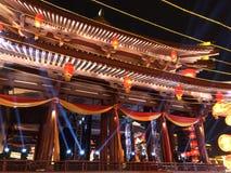 L'architettura cinese antica Fotografia Stock Libera da Diritti