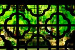 L'architettura del giardino prolungato a Suzhou, Cina fotografia stock libera da diritti
