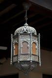 L'architettura della Doubai dettaglia la lampada di Marroko Fotografia Stock Libera da Diritti
