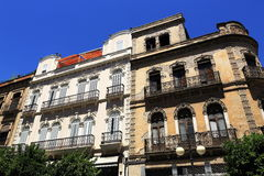 L'architettura di vecchie case in rdoba del ³ di CÃ, Spagna immagine stock libera da diritti