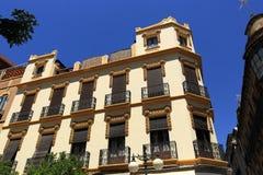 L'architettura di vecchie case in rdoba del ³ di CÃ, Spagna fotografia stock