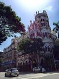 L'architettura gotica della città di Mumbai immagine stock