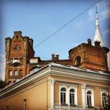 L'architettura sbalorditiva di Kiev, Ucraina Immagini Stock