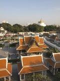 L'architettura tailandese tradizionale immagini stock libere da diritti